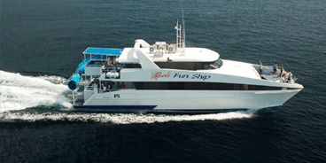 BALI TOURISM DIRECTORY FUN SHIP