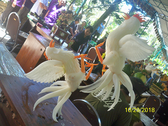 FRUIT CARVING STIPAR TRIATMA JAYA  2018 BIRDS