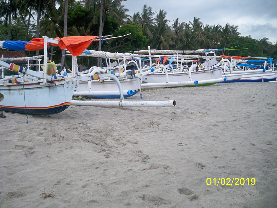 VIRGIN BEACH BALI TOURISM DIRECTORY boat