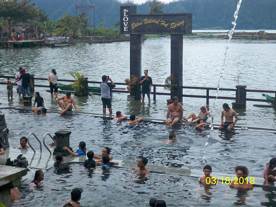 Batur Natural Hot Spring Water