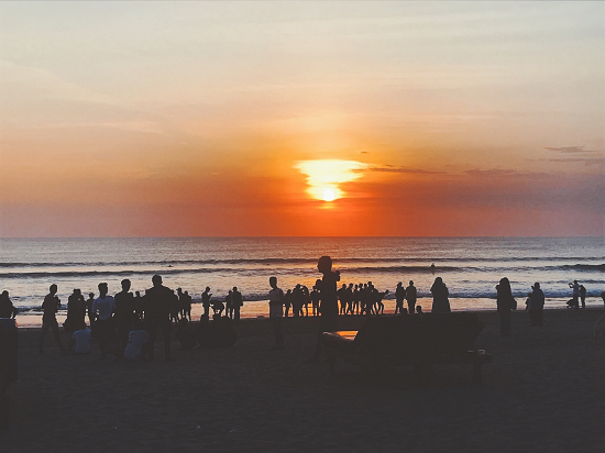 KUTA BEACH SUNSET BALI TOURISM DIRECTORY 2018